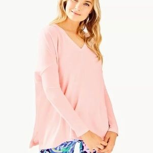 Lilly Pulitzer Paradise Pink Clifford Top Large